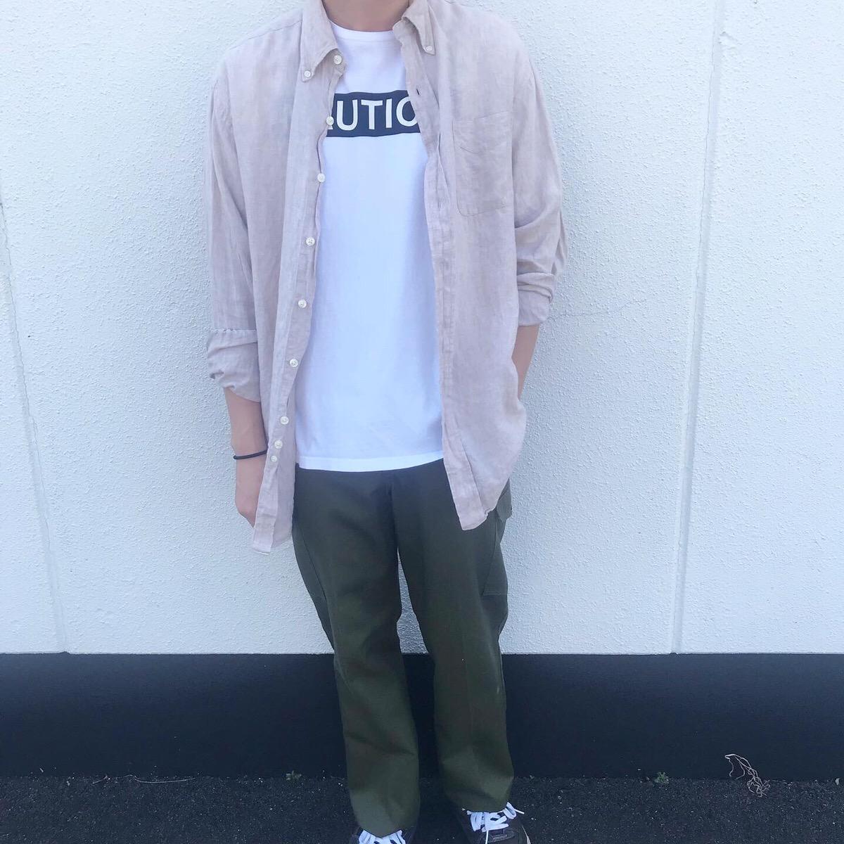 2019年9月10日 | 落ち着いたカラーのリネンシャツで秋らしさを意識したコーデ