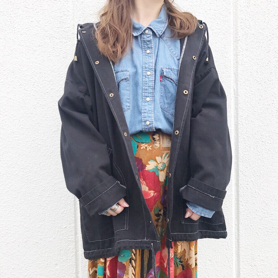 LEVI'S denim western shirt   foodie jacket