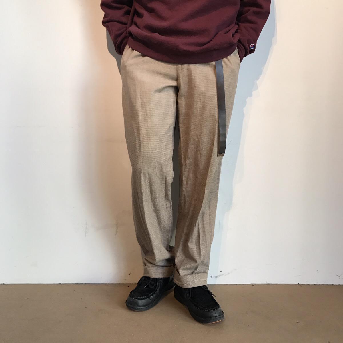 90's ralphlauren houndtooth slacks