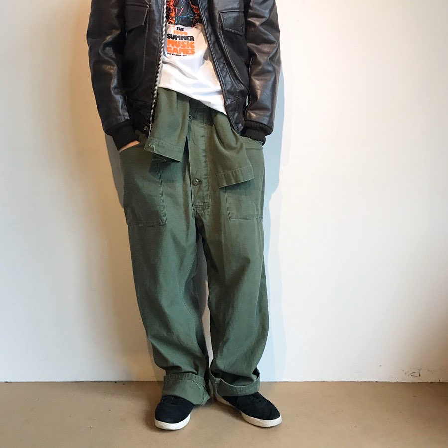80s military coverall