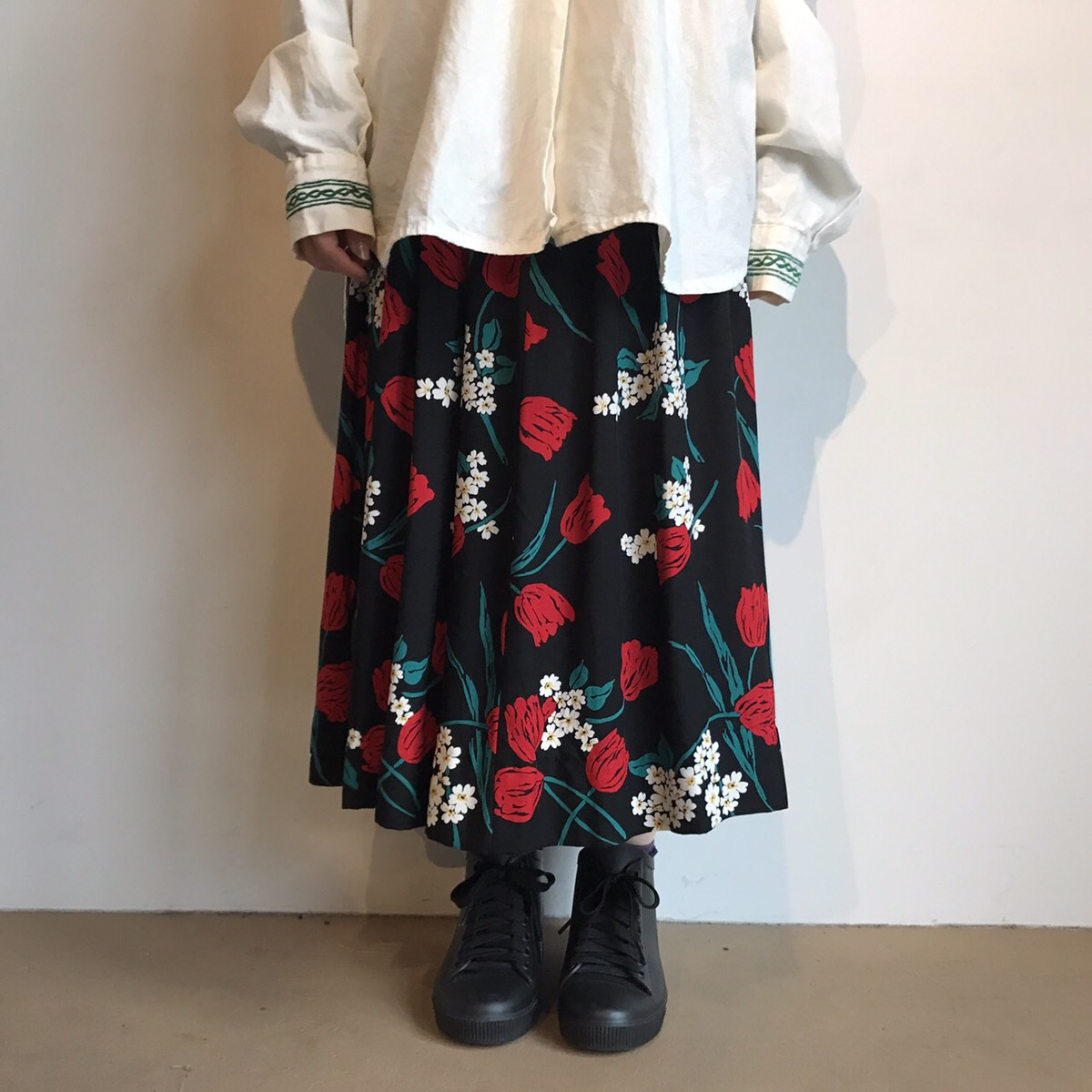 80s vintage skirt made in USA