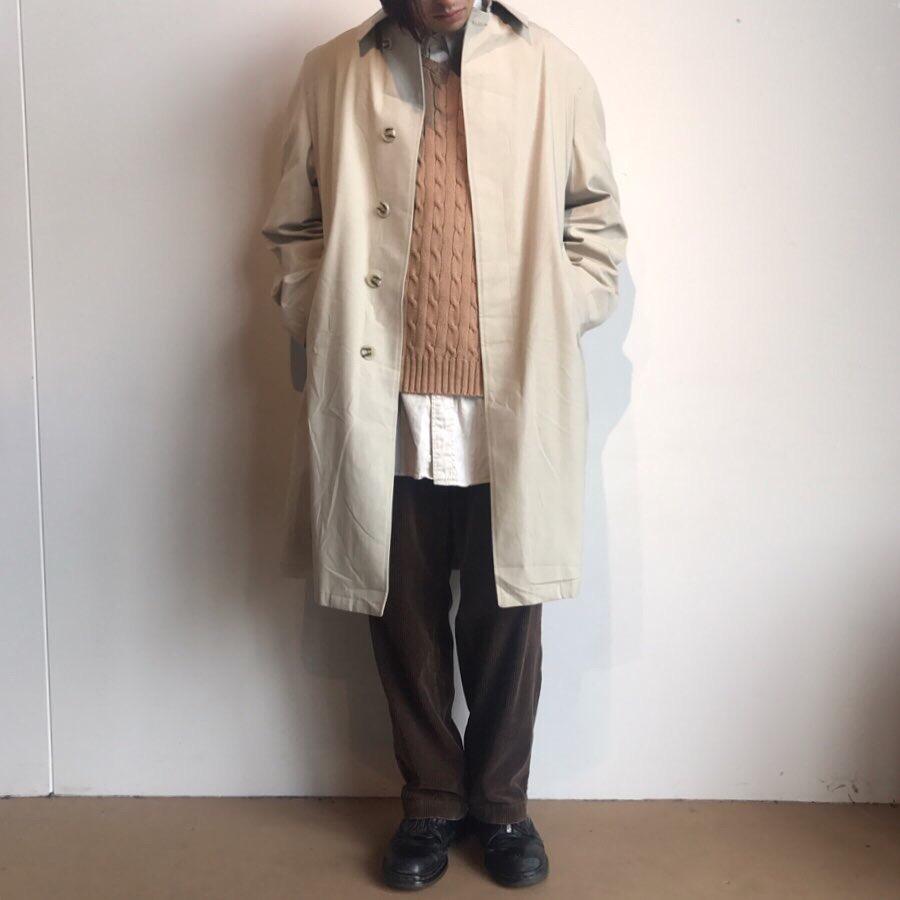 ベージュグラデーションコーデ, Spring coat