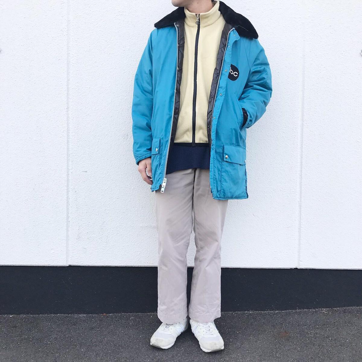 80'sジャケットコーデ
