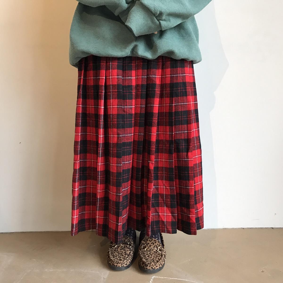 """80s pendleton wool skirt """"TALON ZIP"""" made in USA"""