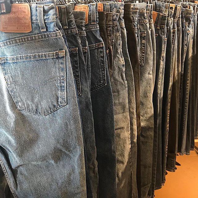 アメリカ古着のジーンズ