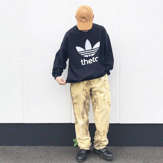 ストリートファッションの古着コーディネート1