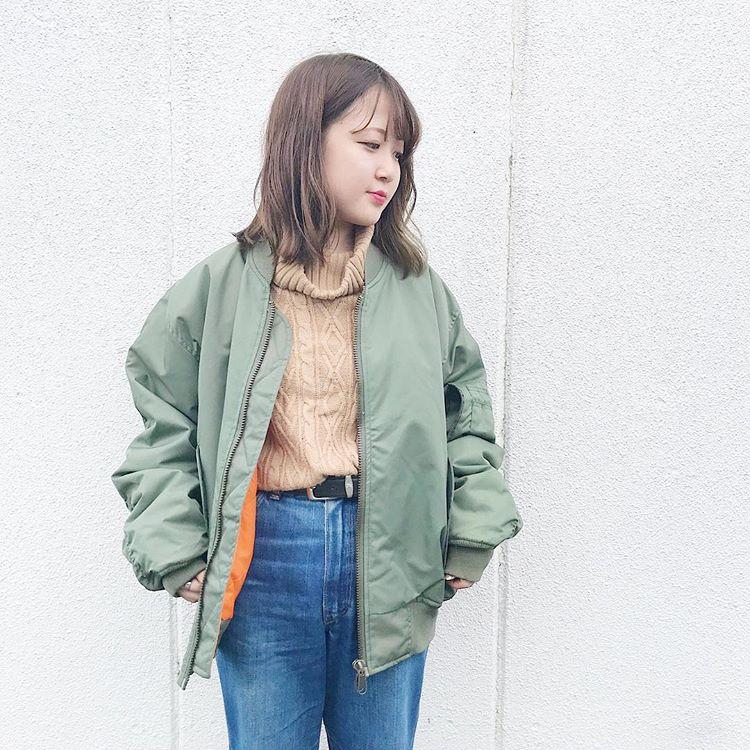 80年代ファッション MA-1