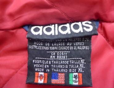アディダス タグ80年代 万国旗