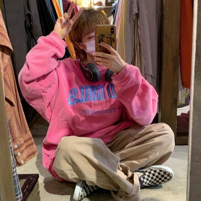 トレンド秋色ピンク