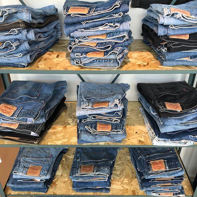 リーバイスのジーンズ