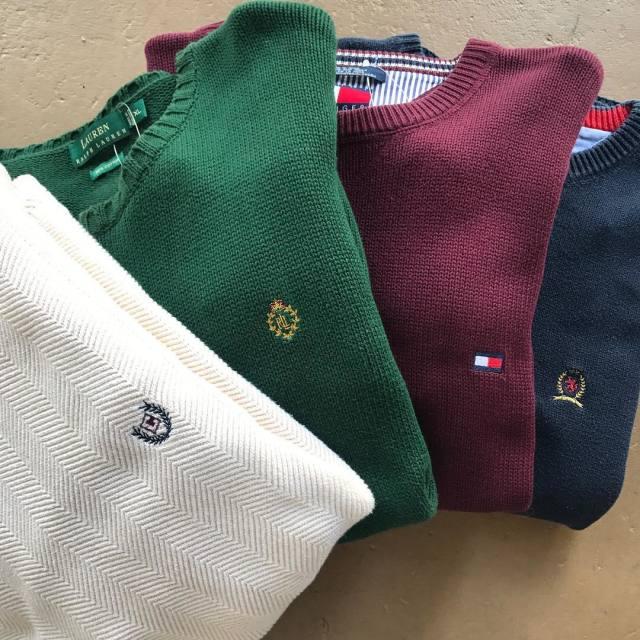 古着のセーターの洗い方まとめ