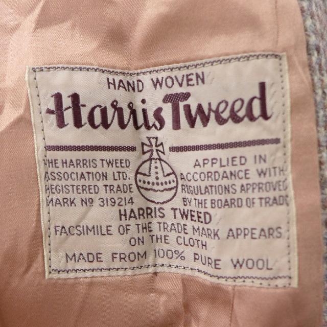 ハリスツイード 40年代のタグ