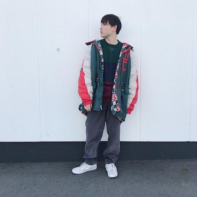 ストリートファッションの古着コーディネート3