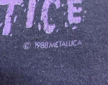 バンドTシャツ コピーライト