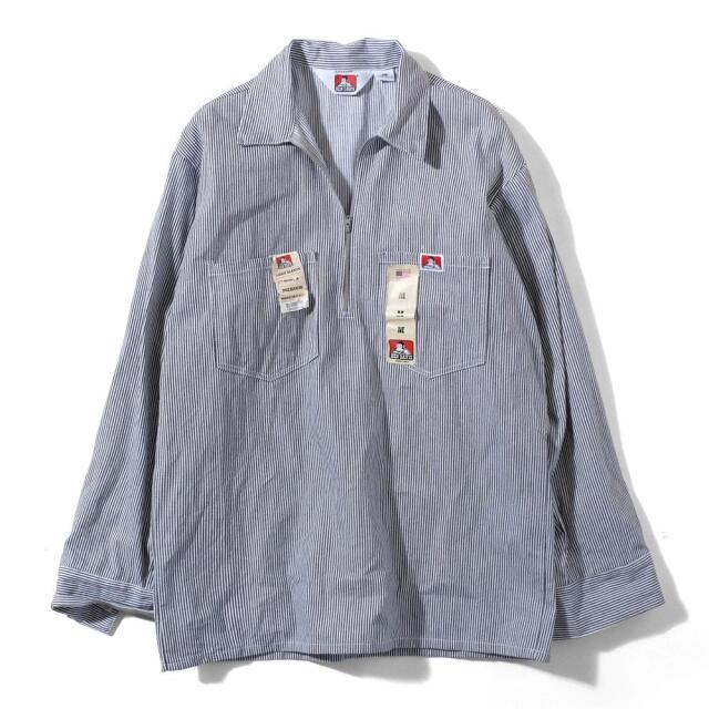 ベンデイビスのヒッコリーストライプシャツ