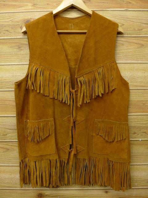70年代ファッション フリンジ