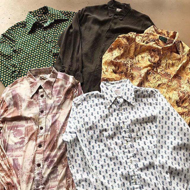 古着の柄シャツの選び方