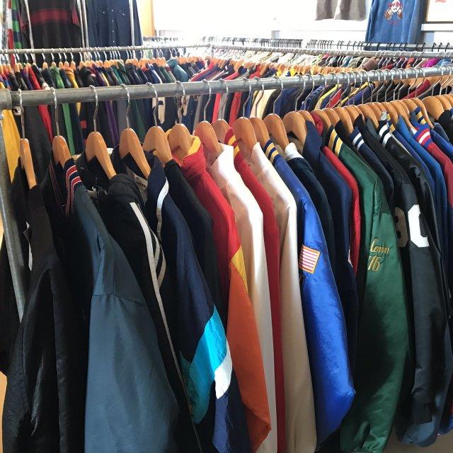 古着のナイロンジャケットの洗濯方法