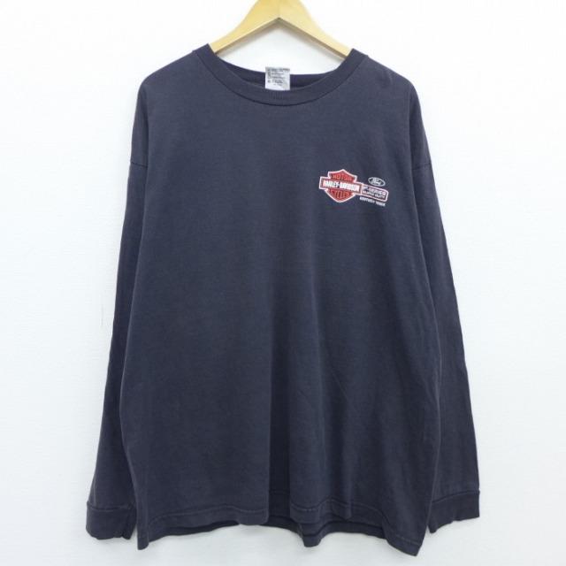 ハーレーダビッドソンの代表的なアイテムロングTシャツ2