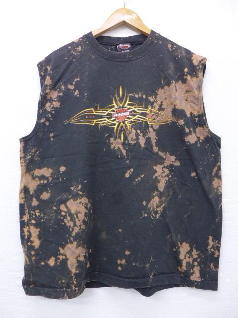 ハーレーダビッドソンの代表的なアイテムノースリーブシャツ