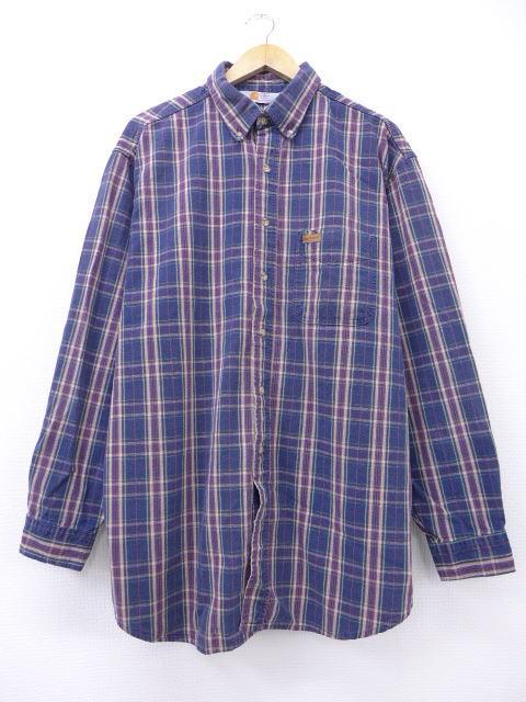 カーハートの古着シャツ