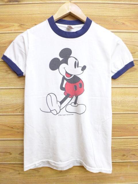 70年代ミッキーリンガータイプシャツ
