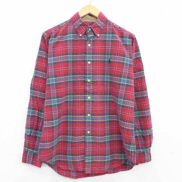 ラルフローレンのチェックシャツ