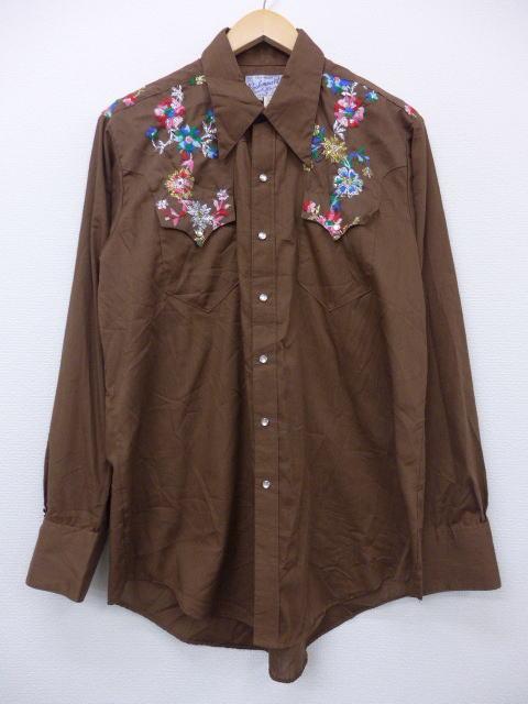 ロックマウントの古着ウエスタンシャツ