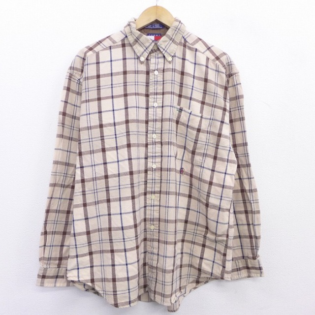 トミーヒルフィガーのチェックシャツ