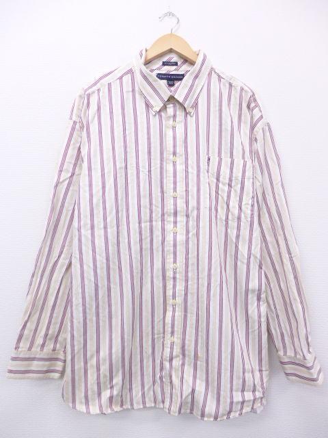 トミーヒルフィガーの古着シャツ