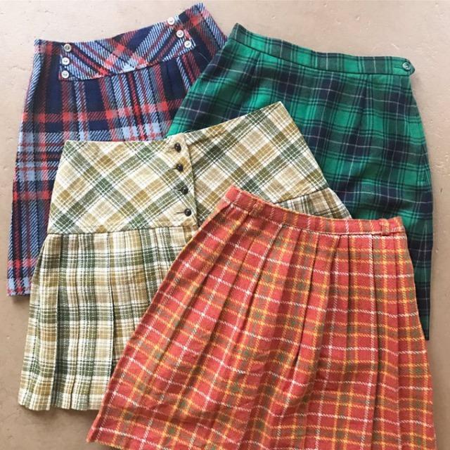 古着のスカート