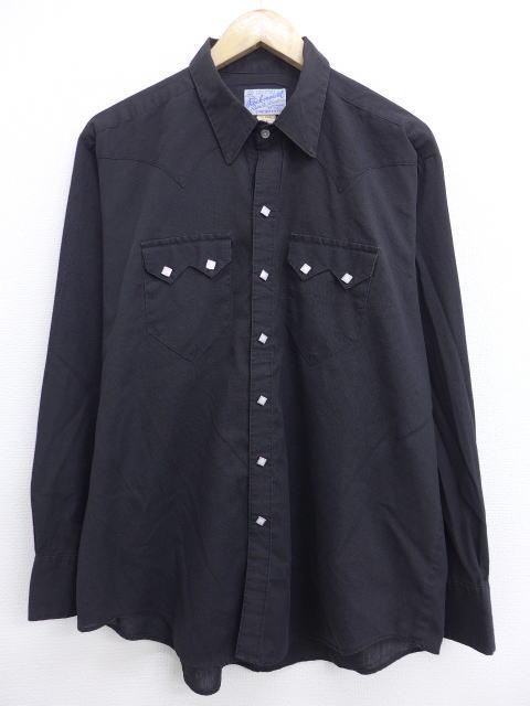 古着のウエスタンシャツ