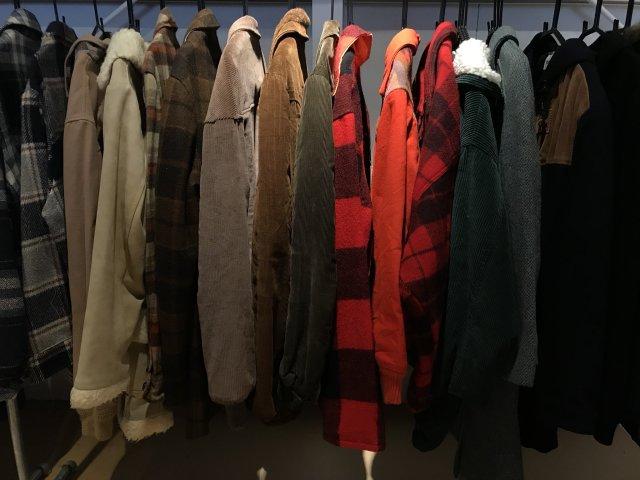 古着のウールジャケット