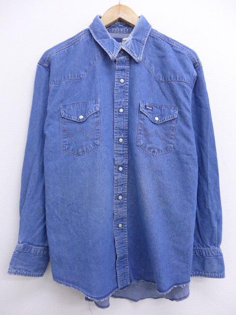 ラングラーの古着ウエスタンシャツ